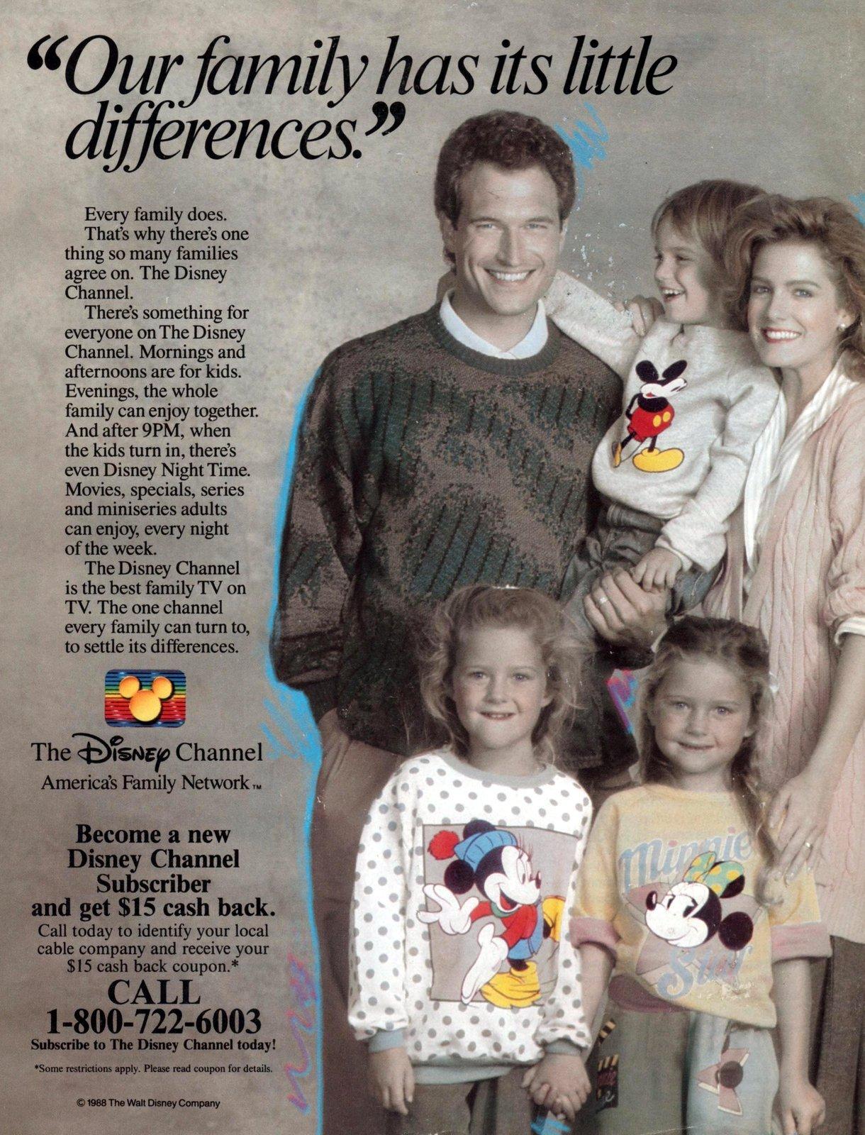 Vintage Disney Channel (1988)