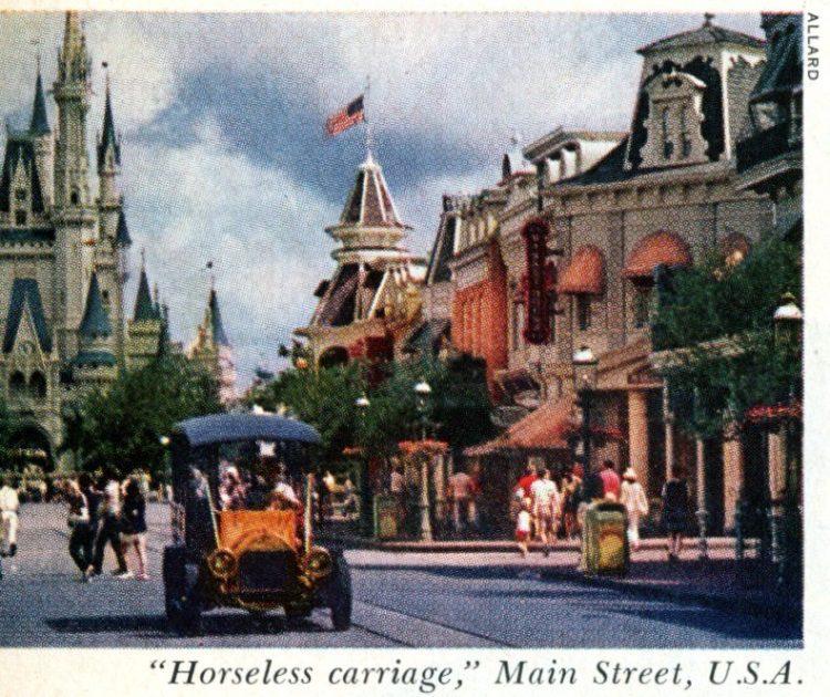 Vintage Disney World - Orlando 1973 - Main Street USA