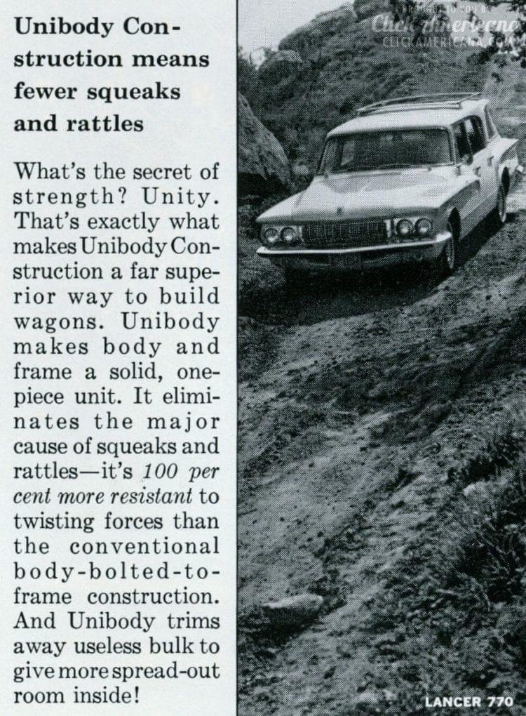 Vintage Dodge 1962 Lancer 770