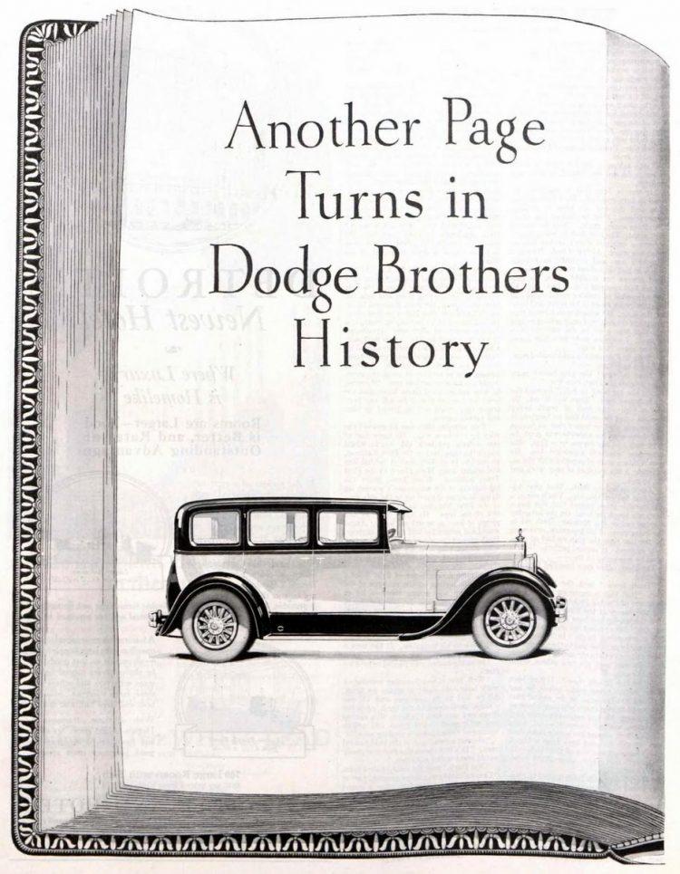 Vintage Dodge Brothers cars - 1927 (2)