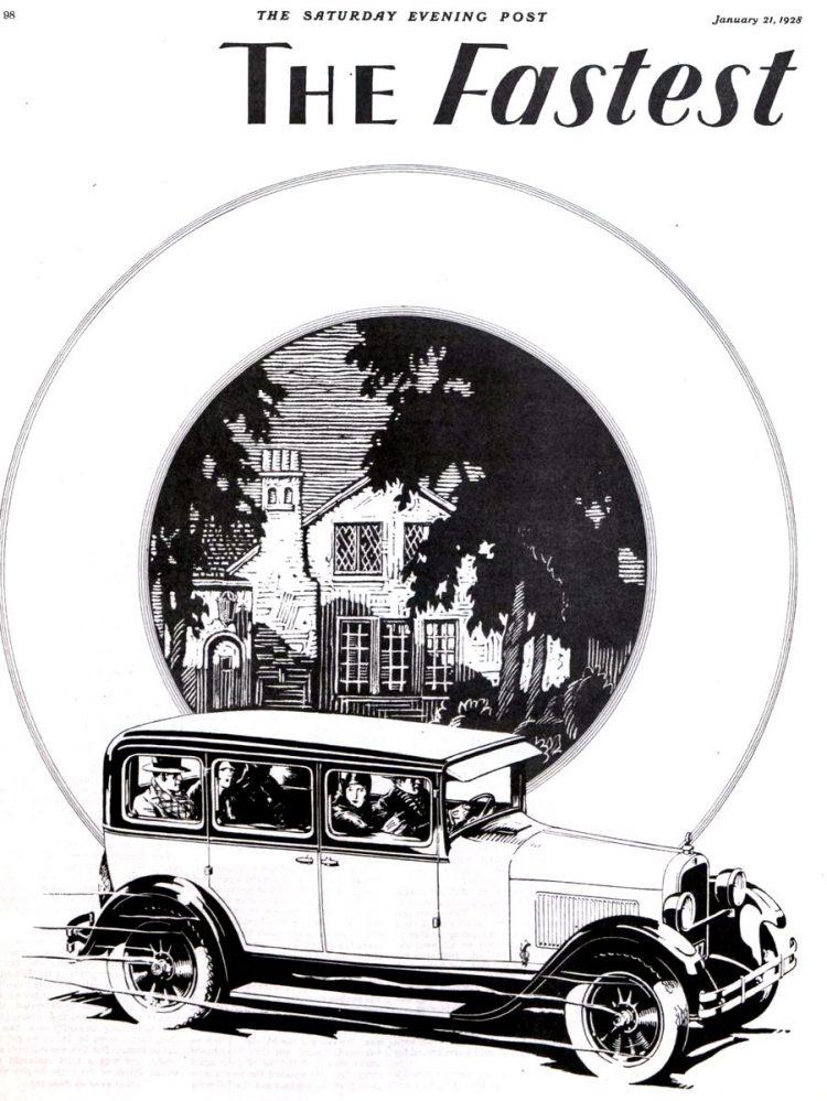 Vintage Dodge Brothers cars - 1928