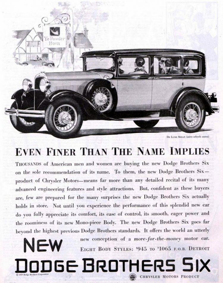 Vintage Dodge cars - 1929 (1)