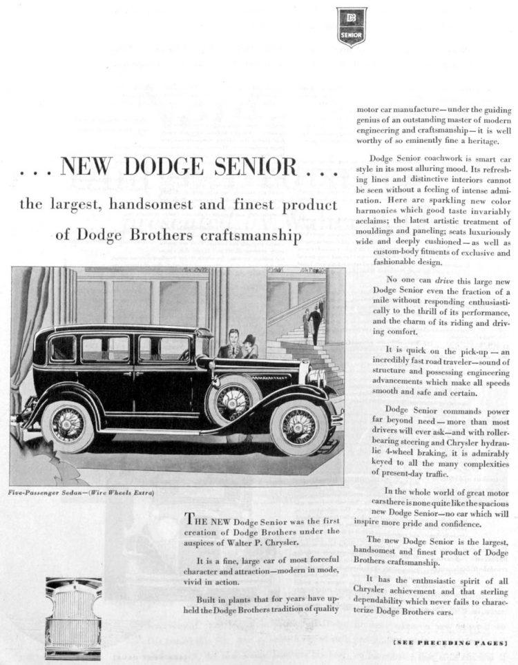 Vintage Dodge cars - 1929 (3)