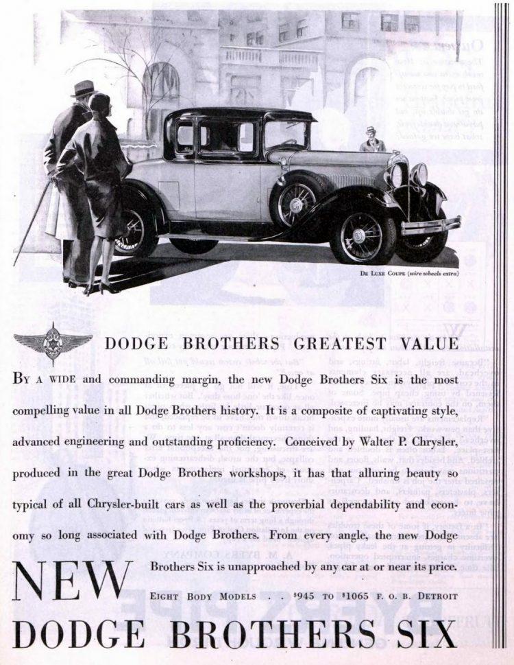 Vintage Dodge cars - 1929 (4)