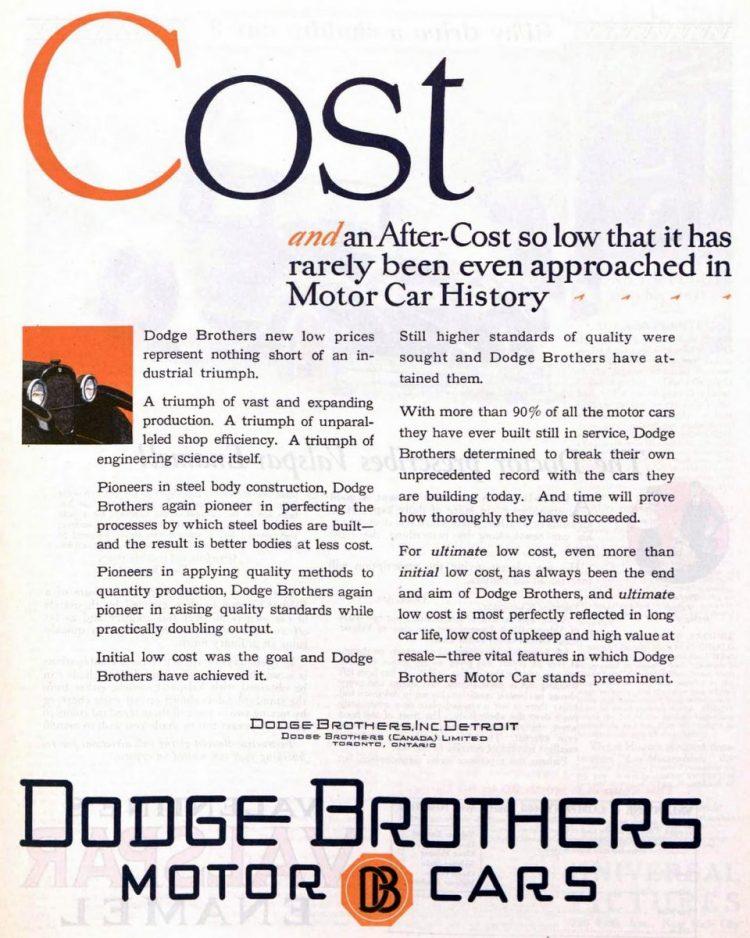 Vintage Dodge cars - Dodge Brothers - 1926 (3)