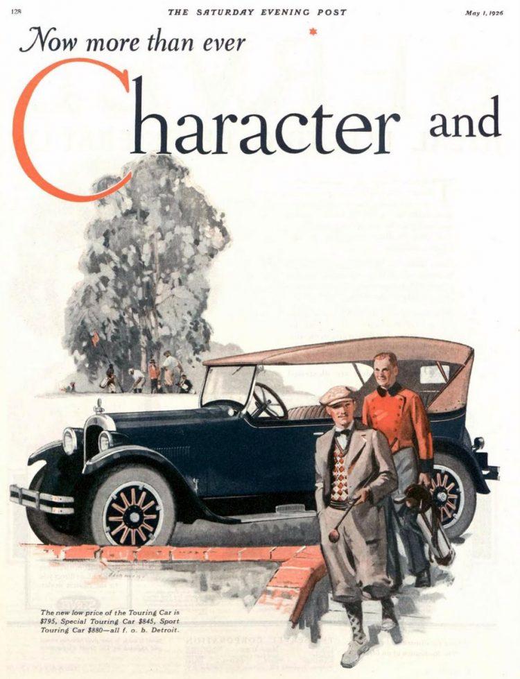 Vintage Dodge cars - Dodge Brothers - 1926 (4)