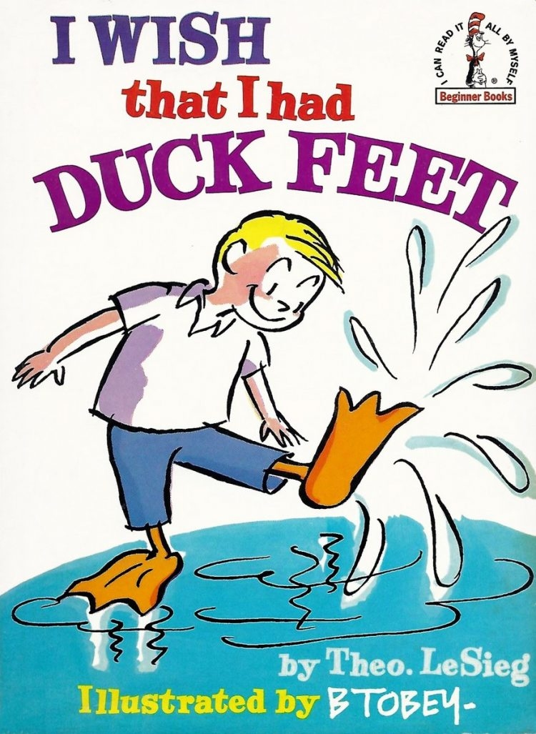 Vintage Dr Seuss - I Wish That I Had Duck Feet