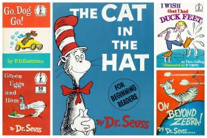 Vintage Dr Seuss books & the old Seuss book clubs for young readers