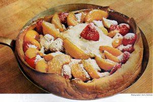 Vintage Dutch Baby dessert