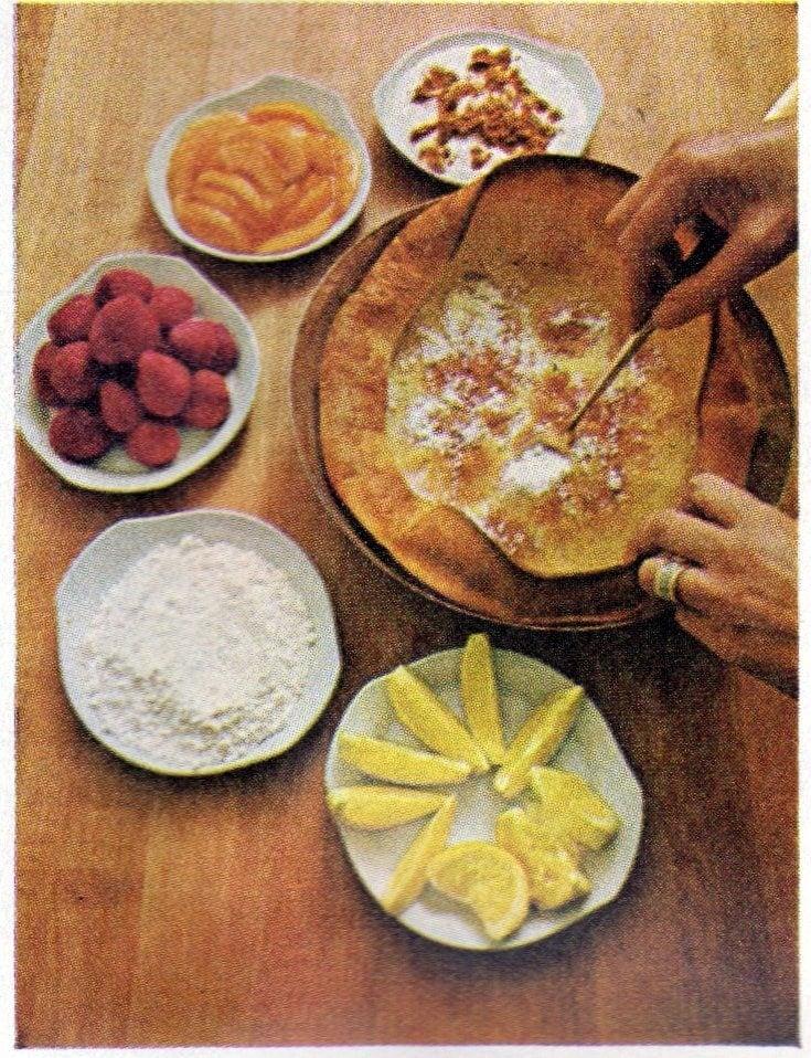 Vintage Dutch Baby dessert recipe from 1968 (1)