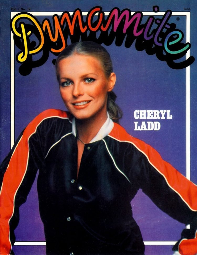 Vintage Dynamite magazine cover - Cheryl Ladd - Charlie's Angels