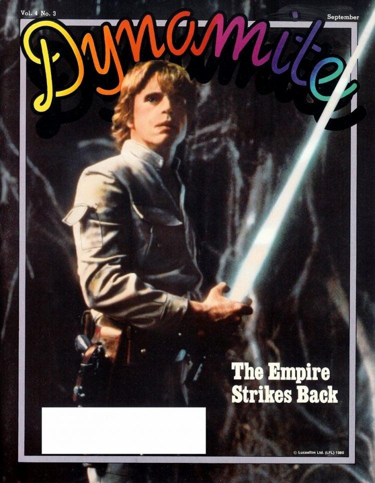 Vintage Dynamite magazine cover - Empire Strikes Back movie