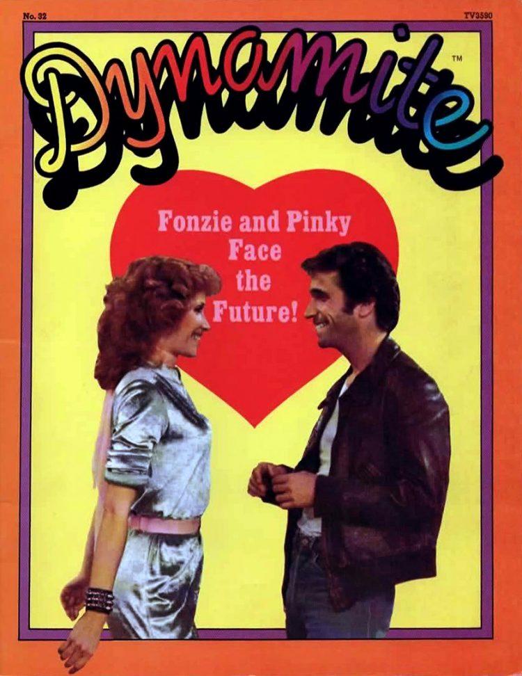 Vintage Dynamite magazine cover - Happy Days