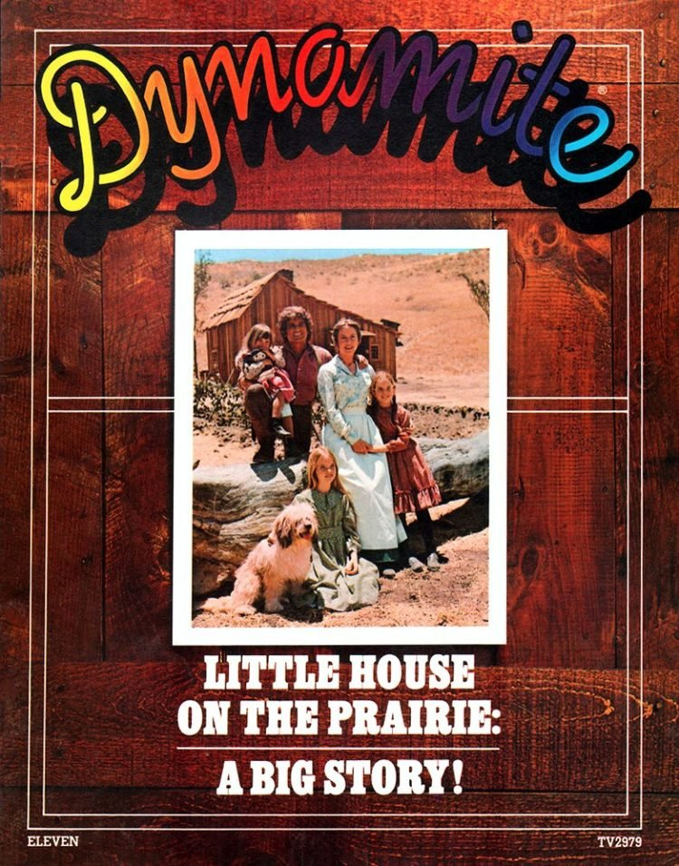 Vintage Dynamite magazine cover - Little House on the Prairie