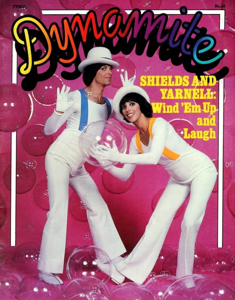 Vintage Dynamite magazine cover - Shields and Yarnell