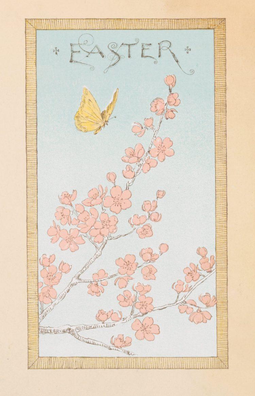 Vintage Easter cards - Prang (1)