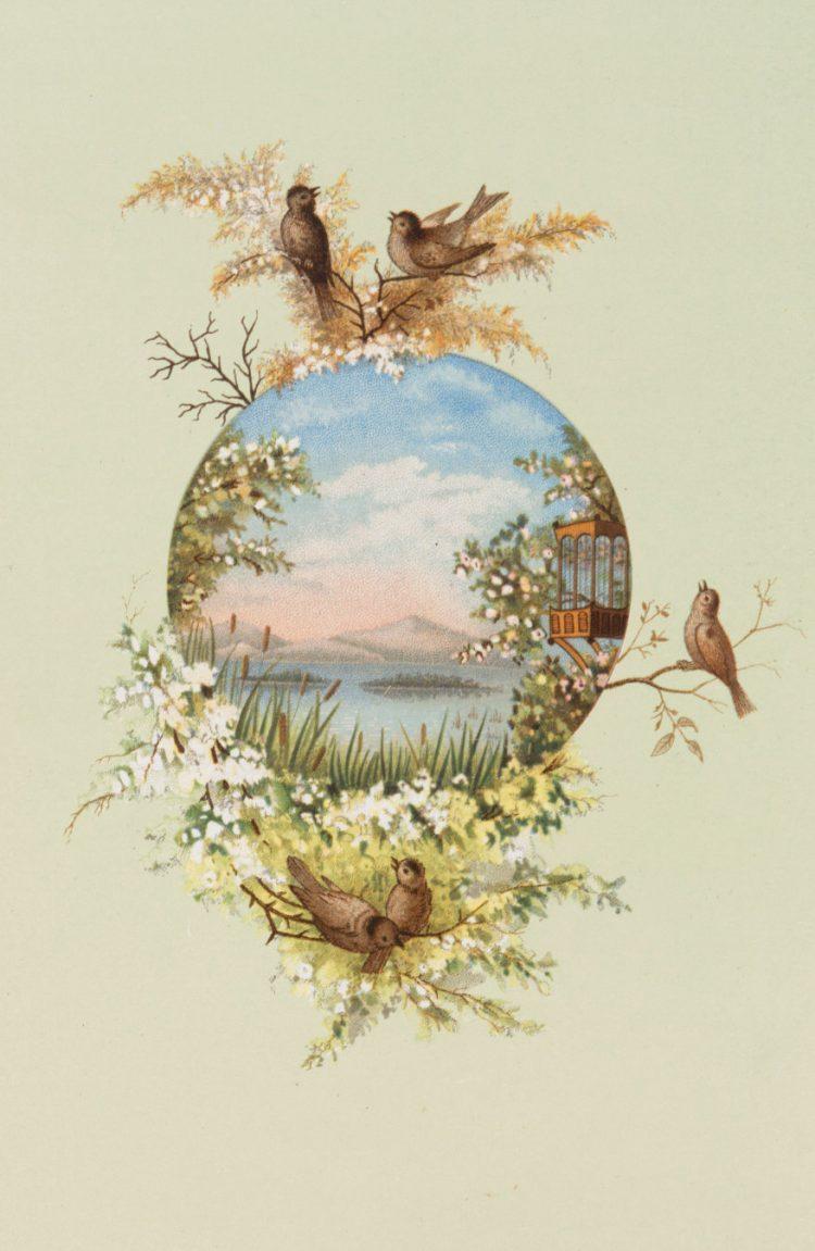 Vintage Easter cards - Prang (3)