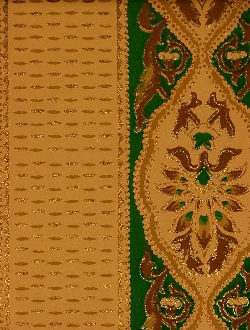 Vintage Edwardian wallpaper samples from 1906 (5)
