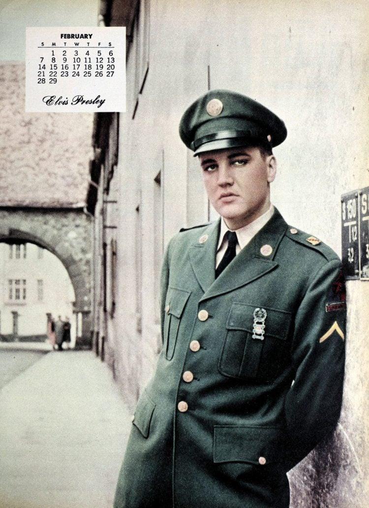 Vintage Elvis Presley in the Army (1)