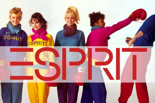 Vintage Esprit fashion from the 80s and 90s