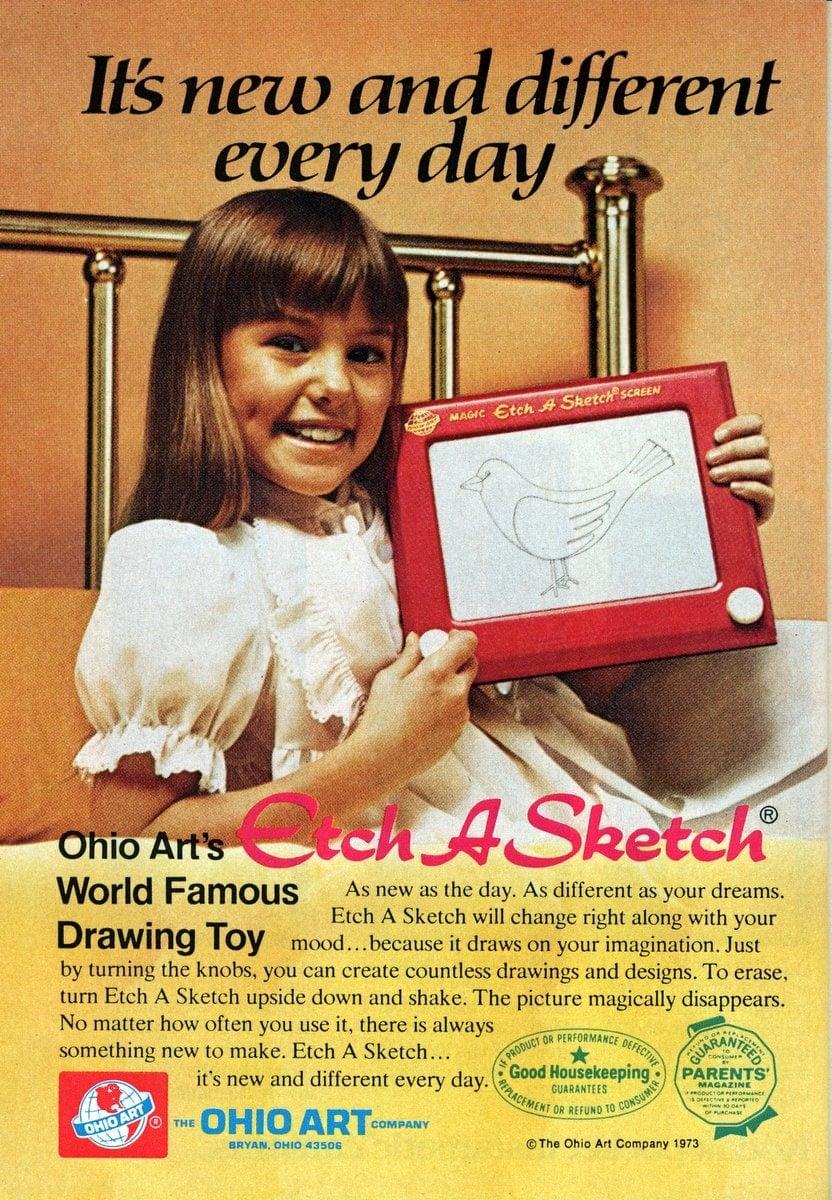 Vintage Etch-A-Sketch (1973)