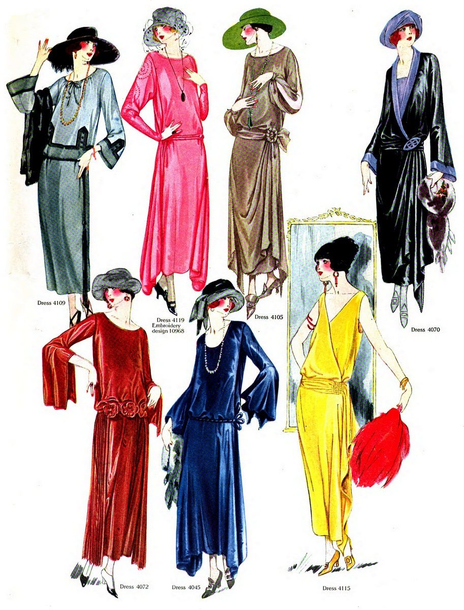 Vintage Fall-winter 1922 clothing styles for women (5)