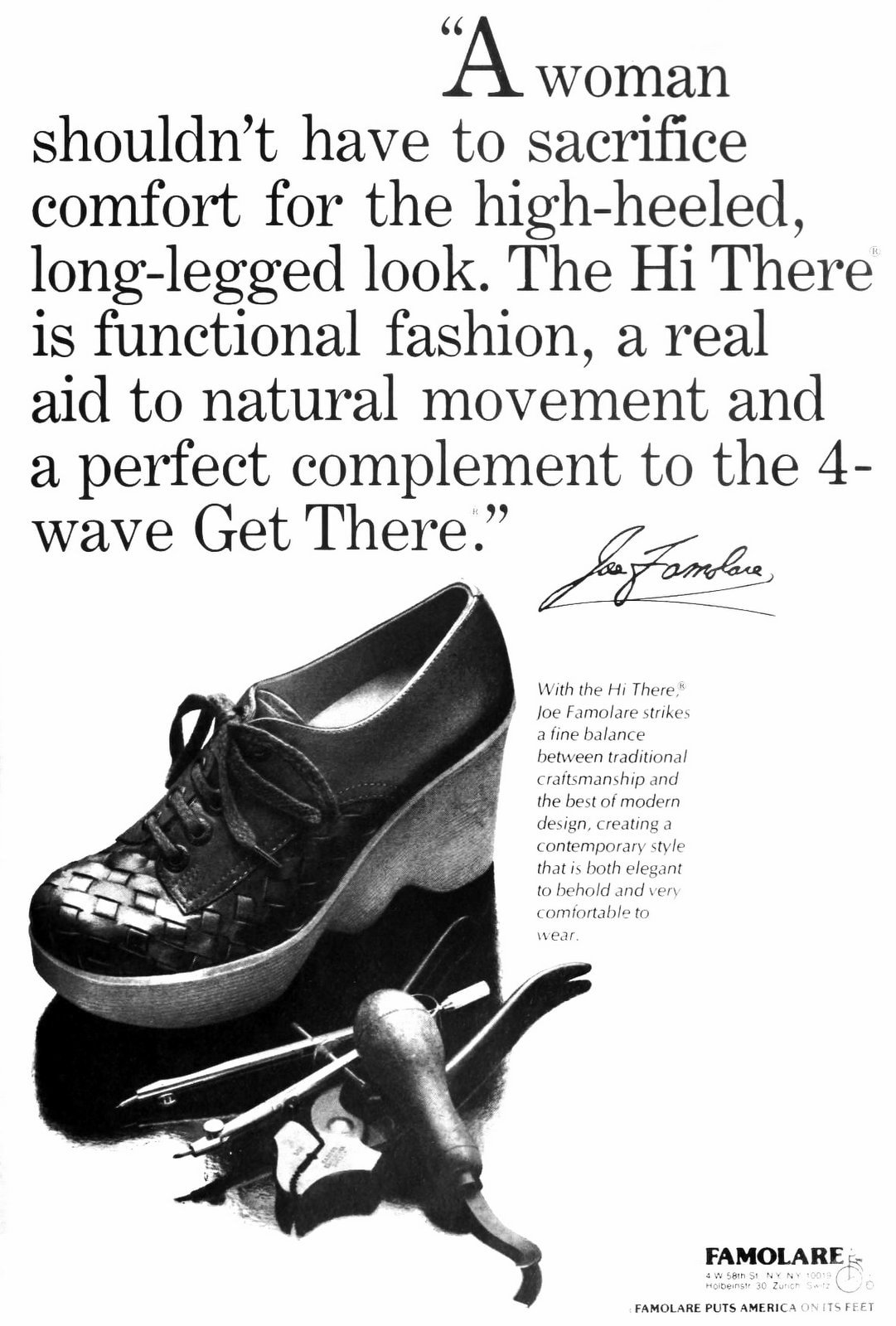 Vintage Famolare shoes - Hi There and Get There (1977)