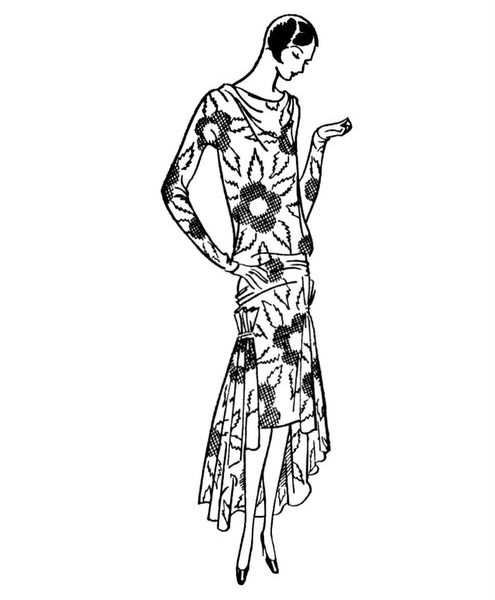 Vintage Fashion from the Mid-1920s - sample pages (3)