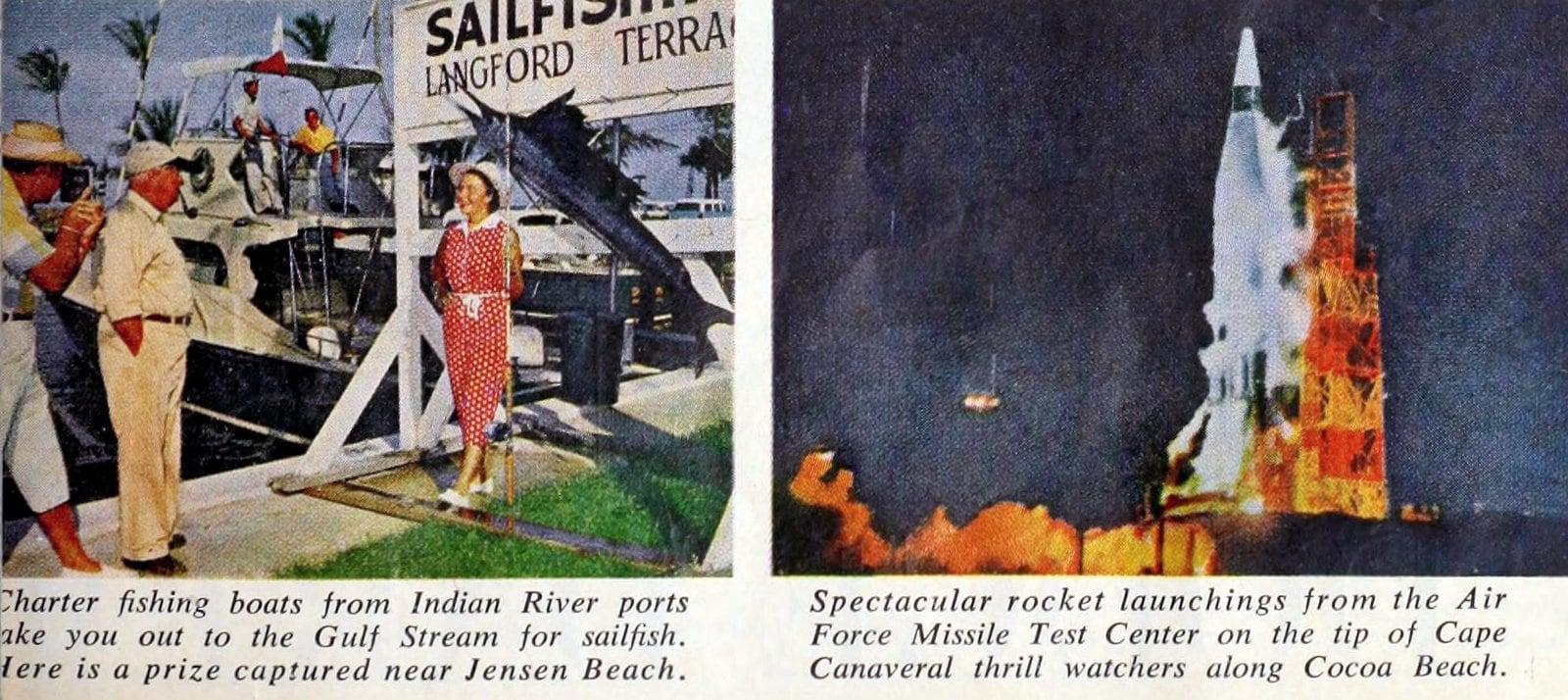 Vintage Florida's middle east coast (1960)