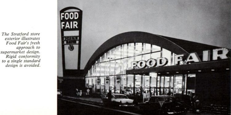 Vintage Food Fair grocery stores in the late 50s (2)