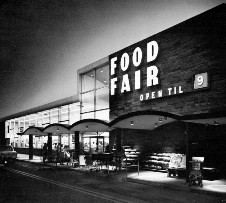 Vintage Food Fair grocery stores in the late 50s (3)