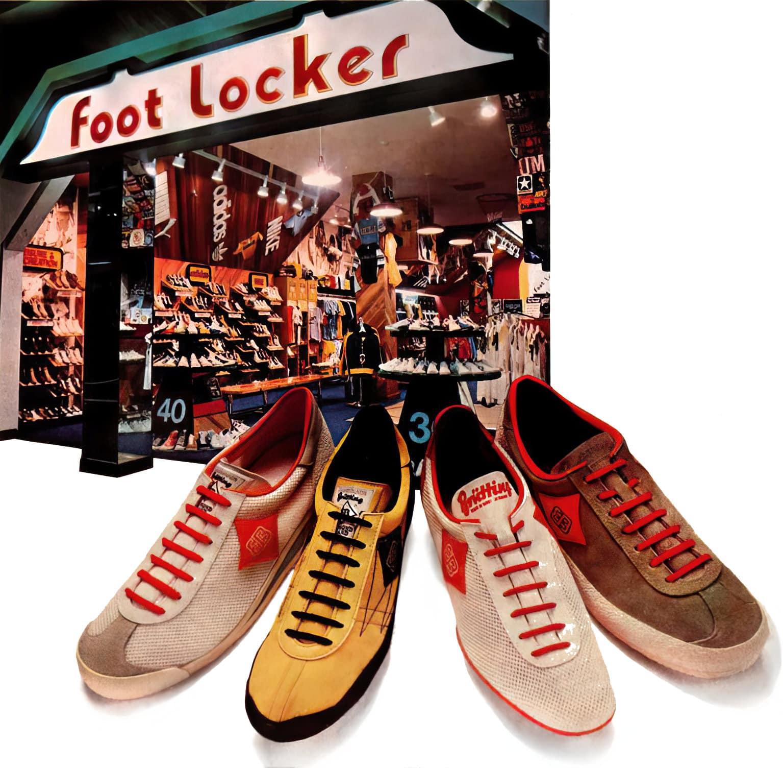 Vintage Foot Locker shoestore (1978)