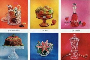 Vintage Fostoria glass Old patterns, colors ans styles of the classic American glassware