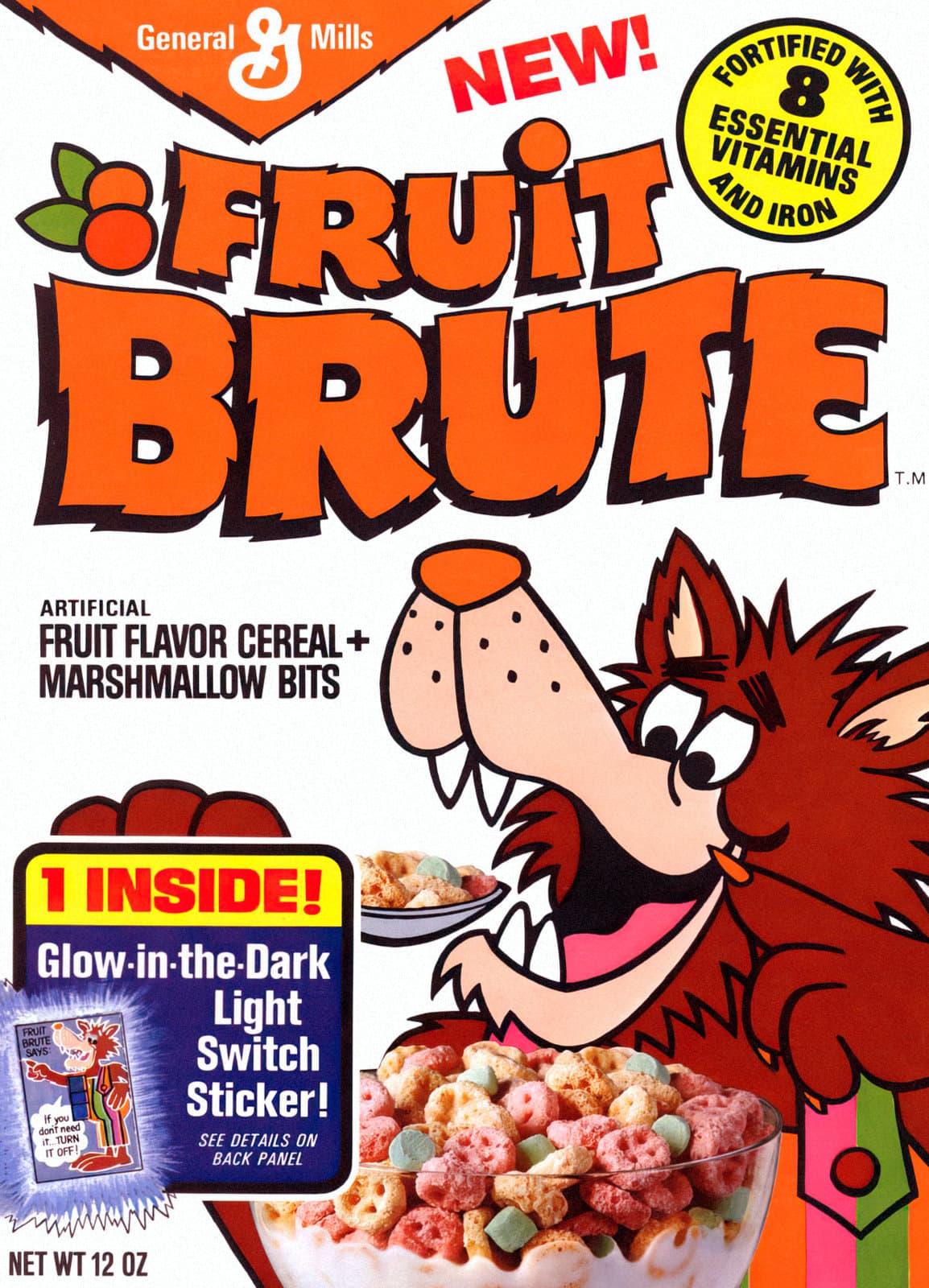 Vintage Fruit Brute cereal (1974)