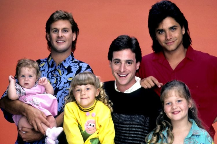 Vintage Full House TV show cast - 1980s