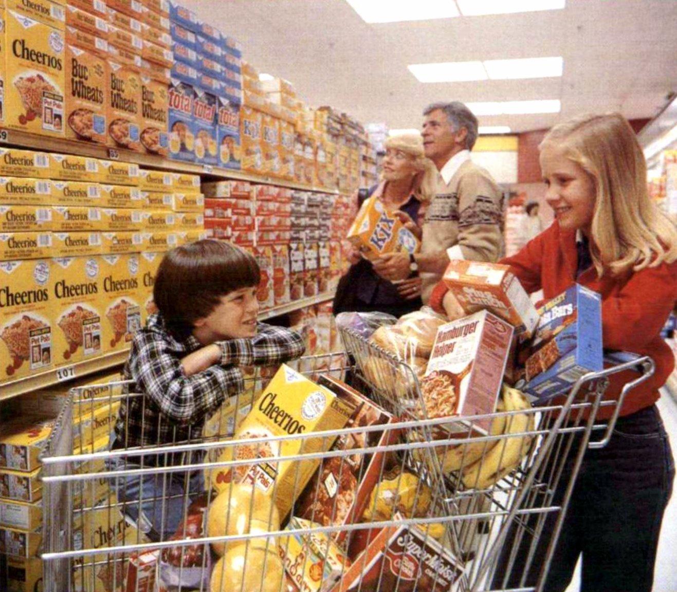 Vintage General Mills cereals (1979)
