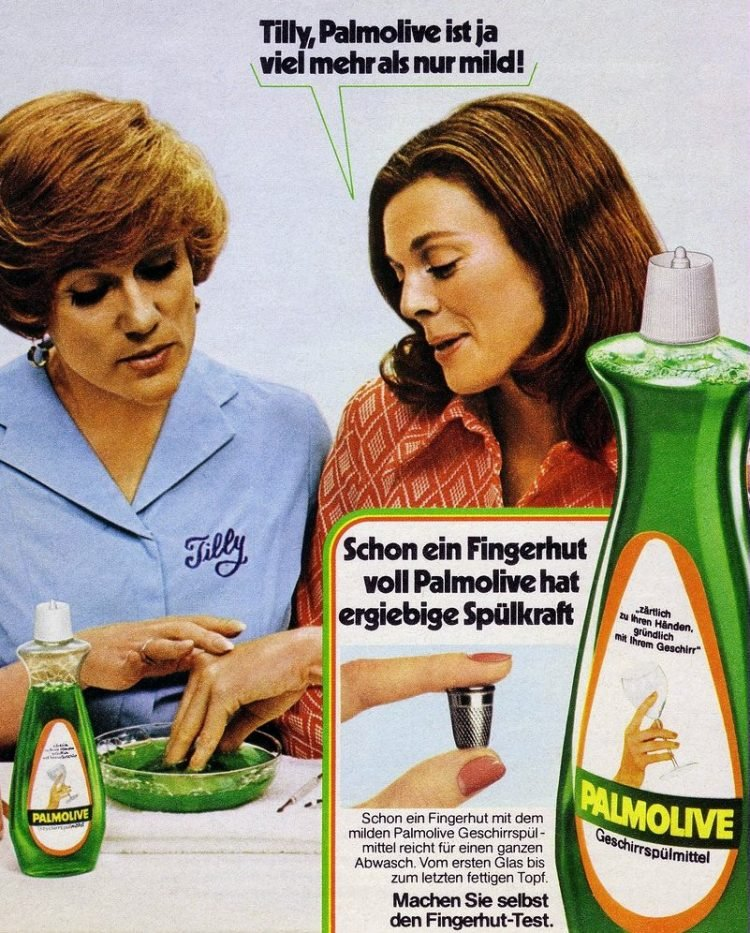 Vintage German Tilly the Manicurist for Palmolive - 1970s