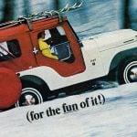 Vintage Go Jeep V6 The fun 4-wheel-drive 1967
