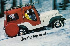 Vintage Go Jeep V6 The fun 4-wheel-drive 1967