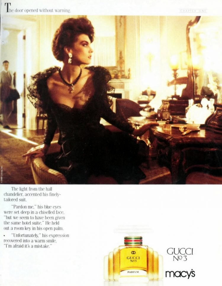 Vintage Gucci No 3 perfume from 1989