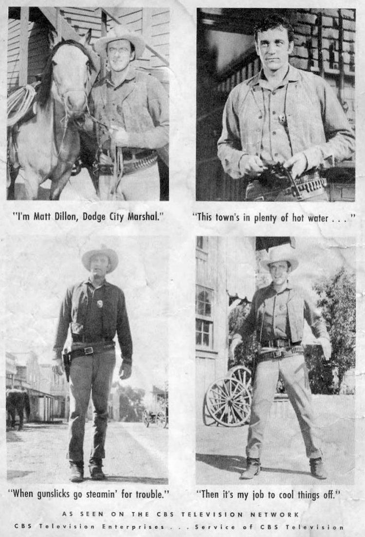 Vintage Gunsmoke comic book cover (1)