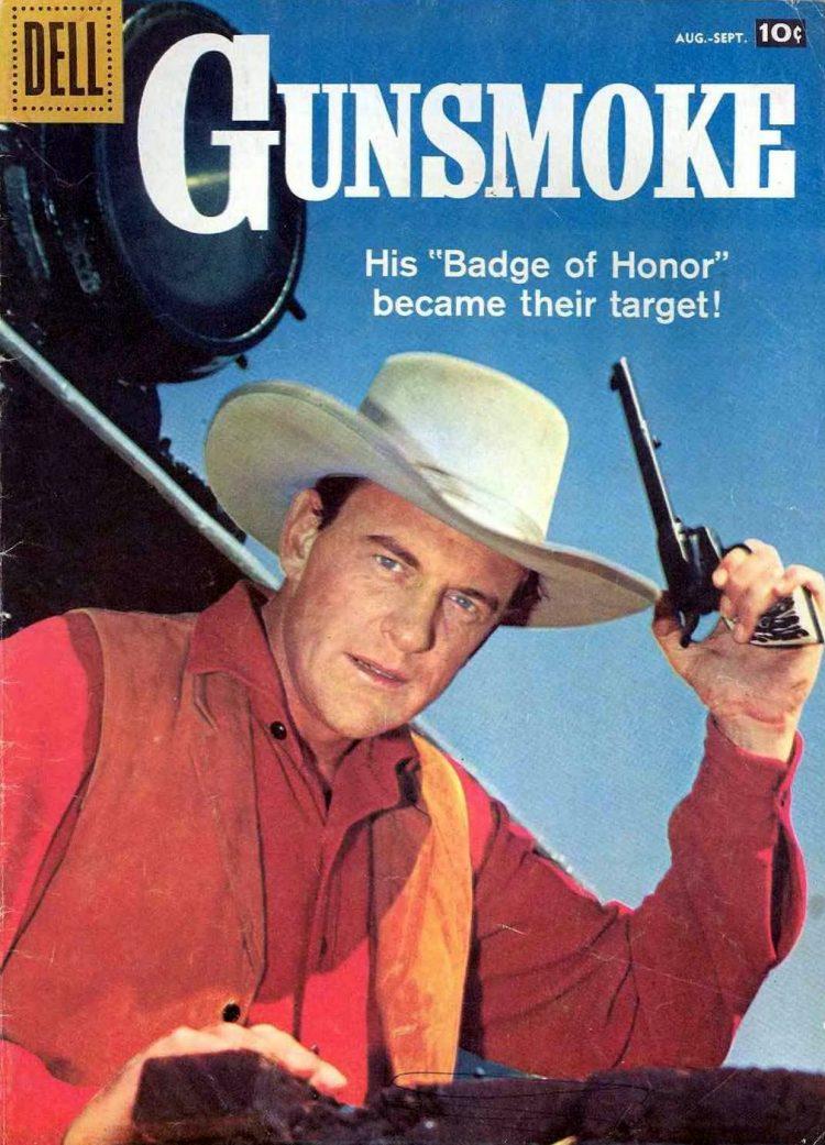 Vintage Gunsmoke comic book cover (3)