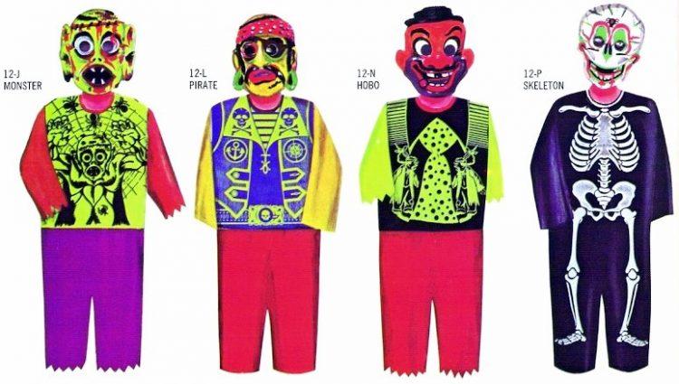 Vintage Halloween Costumes - 1966 Collegeville (1)