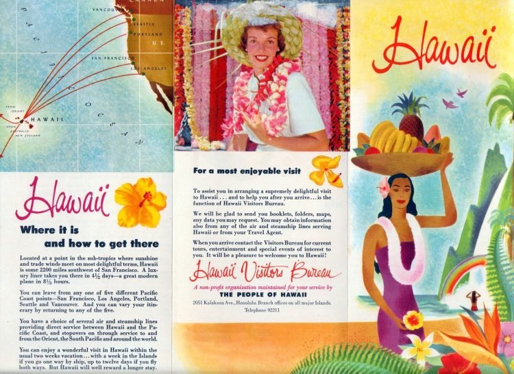 Vintage Hawaii in the 1950s (4)
