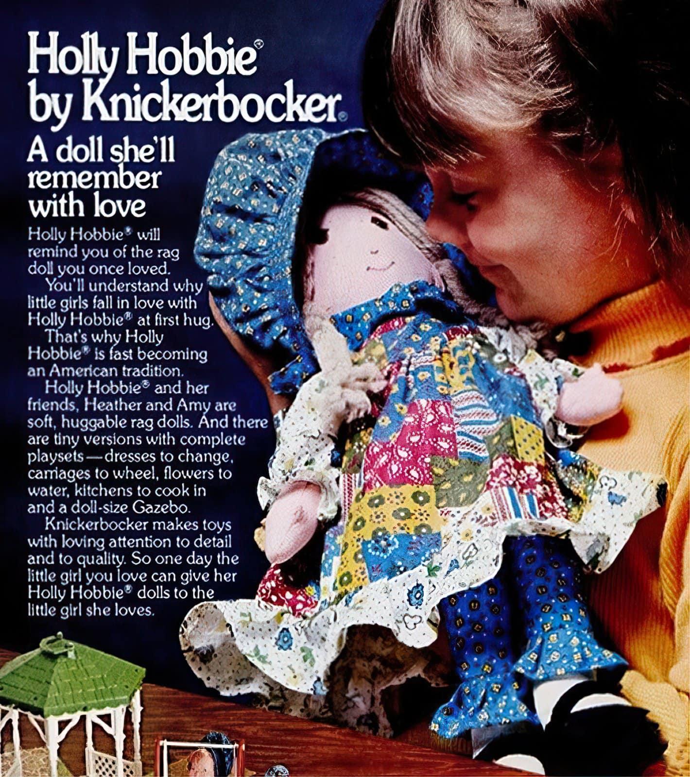 Vintage Holly Hobbie dolls (1976)