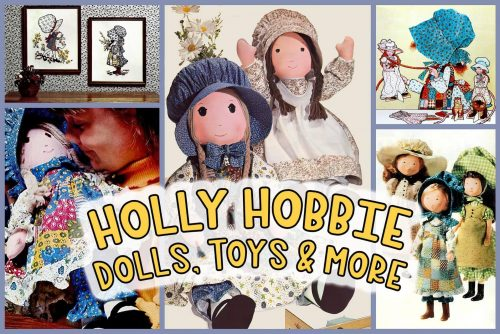 Vintage Holly Hobbie dolls and toys at Click Americana