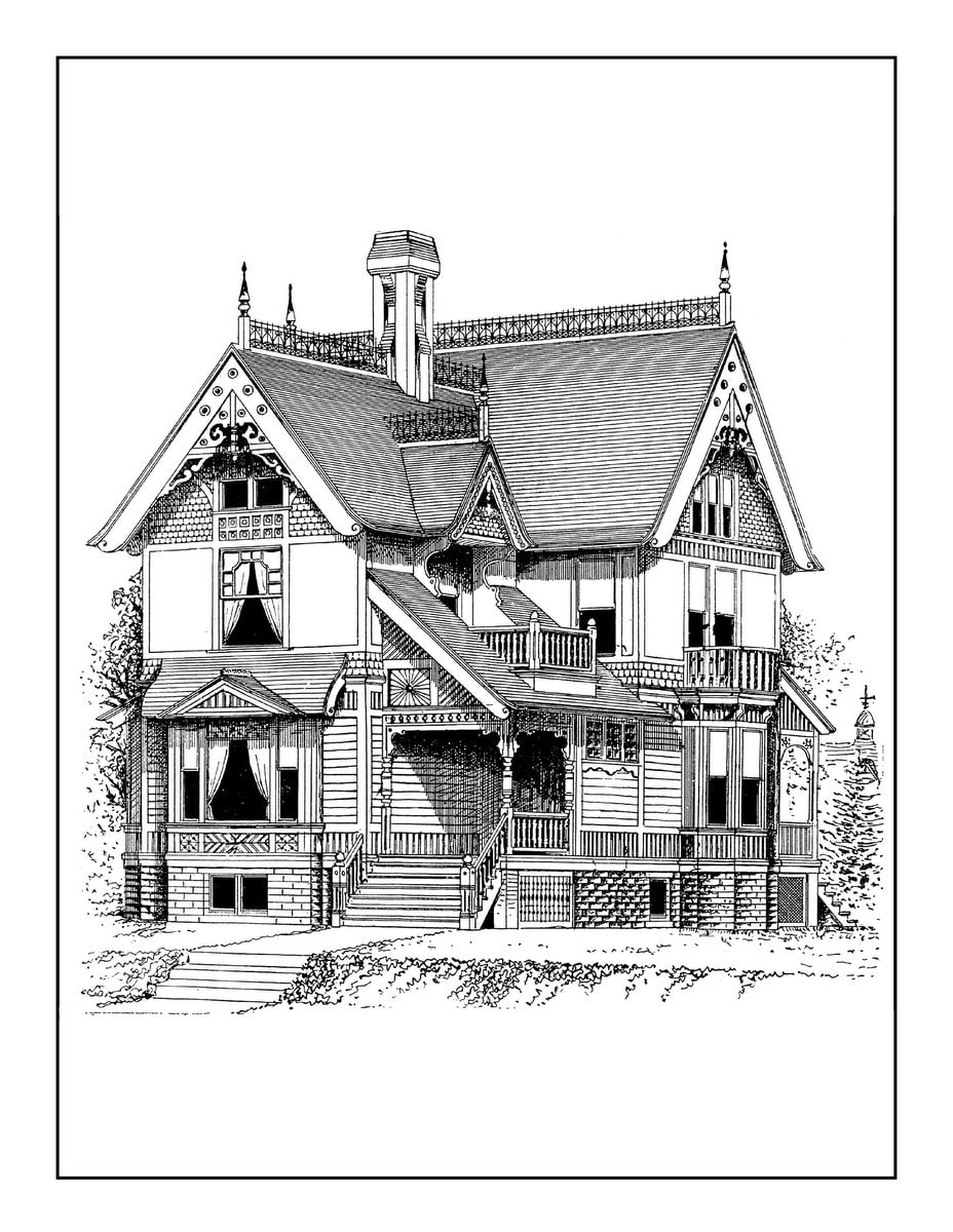 Vintage Homes book 3 - Example pages (1)