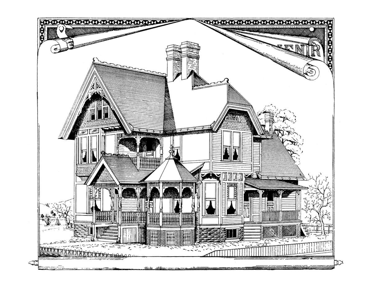 Vintage Homes book 3 - Example pages (3)