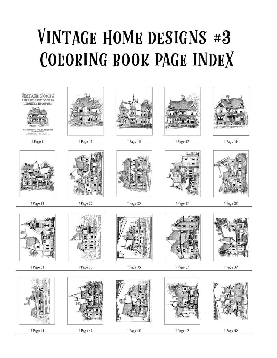 Vintage Homes book 3 - Index (1)