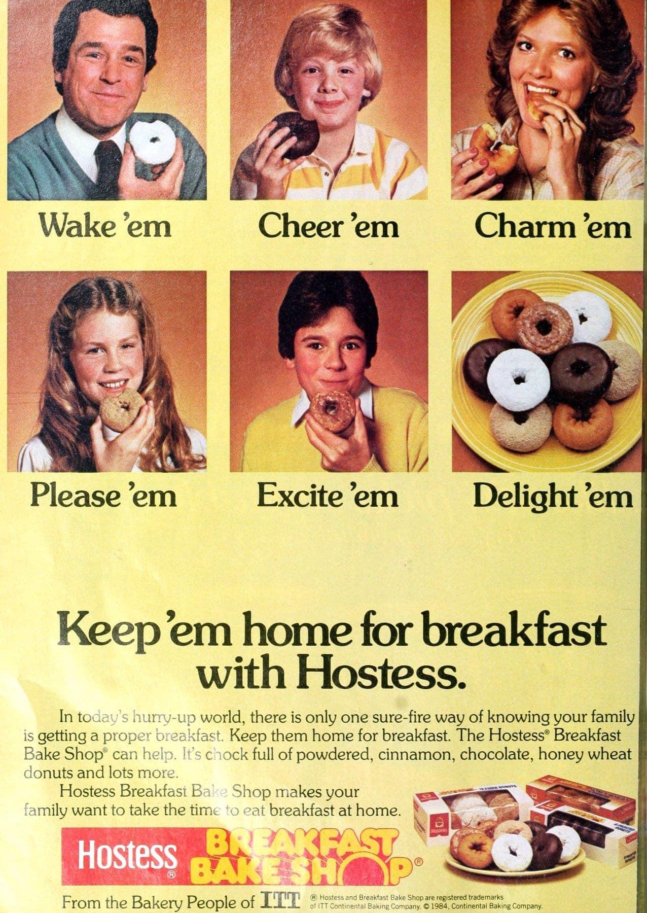 Vintage Hostess Breakfast Bake Shop donuts from 1984 (2)